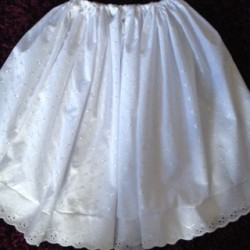 Broderie Anglais National Underskirt - Childs